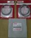 RING PISTON / RING SEHER SUZUKI FORSA TAHUN 1985-1987, 3 CYLINDER, OVERSIZE STANDARD / SET, ORIGINAL SUZUKI